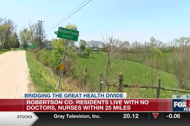 No Doctors, No Nurses: Rural Kentucky county lacking medical services