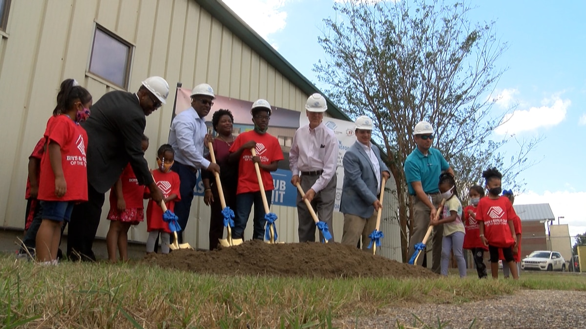 After being displaced 16 years ago club members and city leaders held a groundbreaking ceremony...