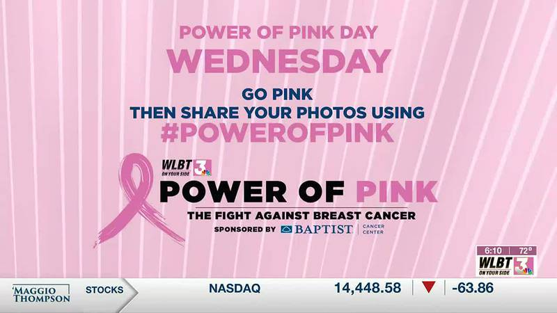 WLBT is going PINK in the fight against breast cancer