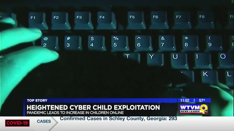 Cyber child exploitation heightened with more time being spent online during pandemic