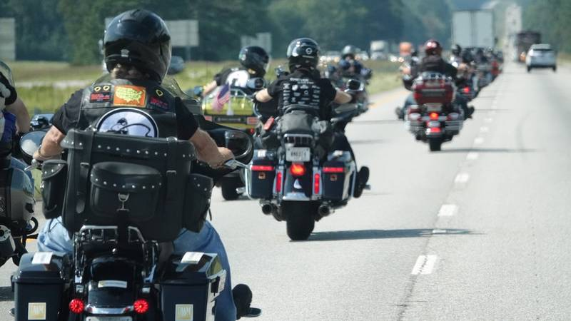 Miracle Riders kicks off cross-country motorcycle ride