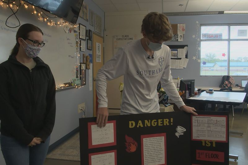 At Valley View High School, EAST students are hard at work improving their emergency response...