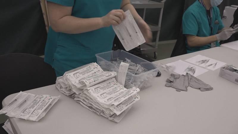 Augusta Health's vaccine drive in Feb. 2021