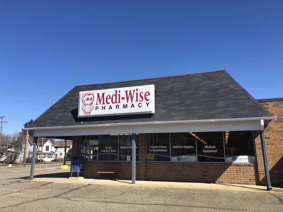 Medi-Wise Pharmacy in Newcomerstown, Tuscarawas County.