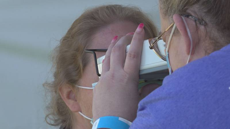 Volunteers and doctors from around the nation bring free dental, medical, and vision care to...