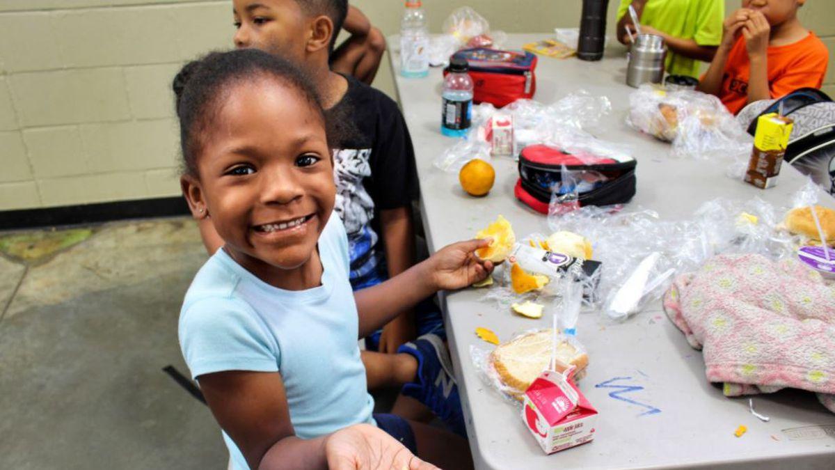 Free summer meals for children in Alabama