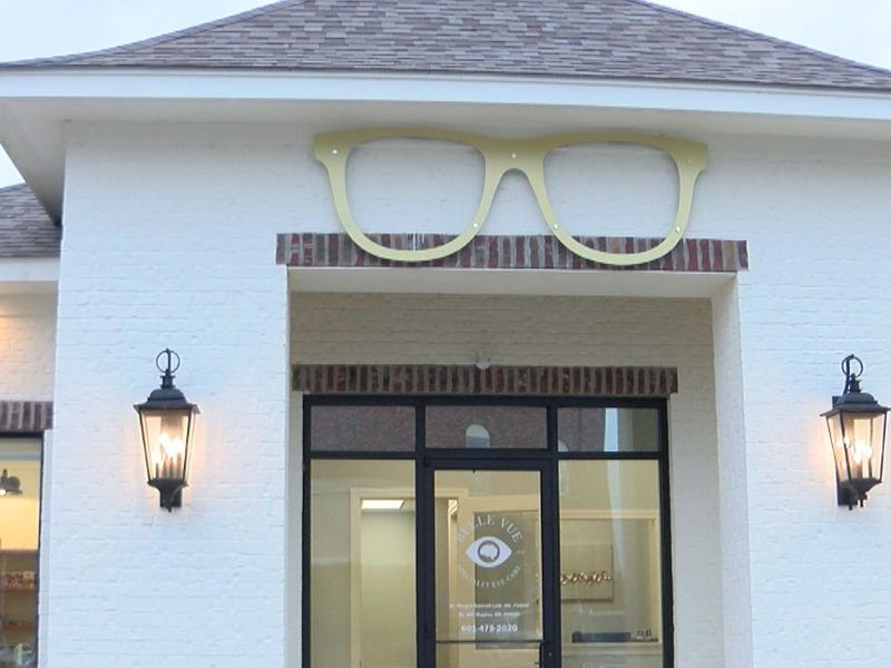 Belle Vue Specialty Eye Care in Hattiesburg.