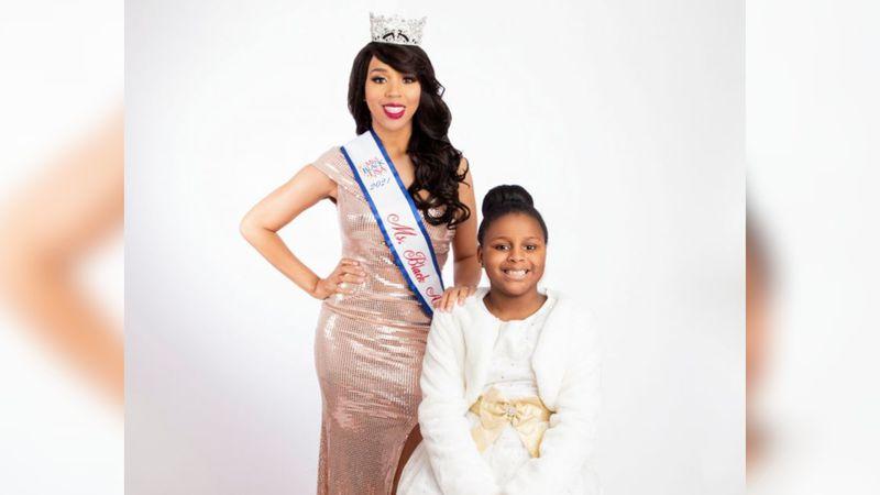 UAH alumna Brittnie Granville and daughter Brailynn