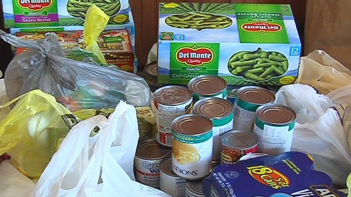 A Stuff the Truck event for Christian Services, Inc. brought in thousands of pounds of food to...