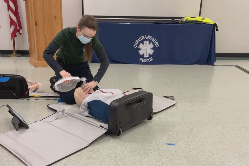 It's a resuscitation education program and is like a portable CPR class.