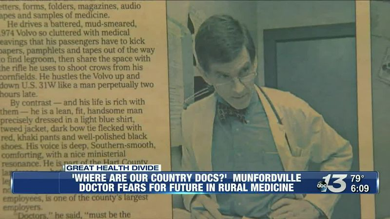 A Munfordville doctor fears for the future in rural medicine