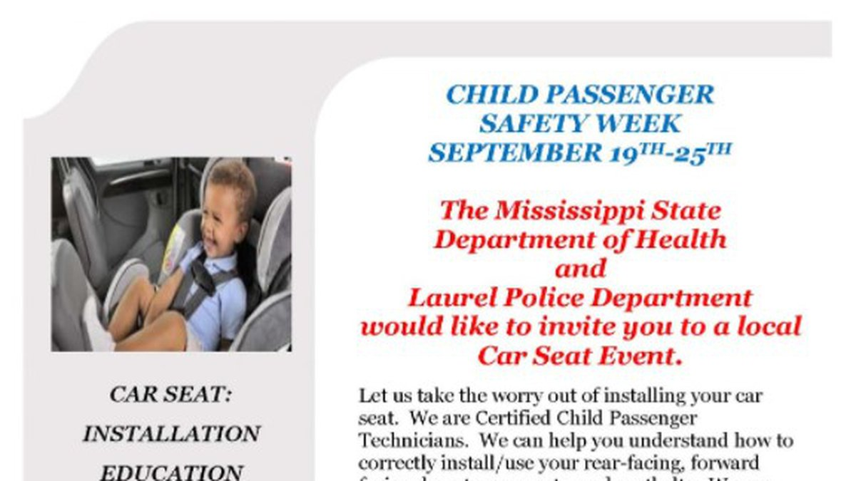 The Laurel Police Department and the Mississippi State Department of Health are teaming up for...