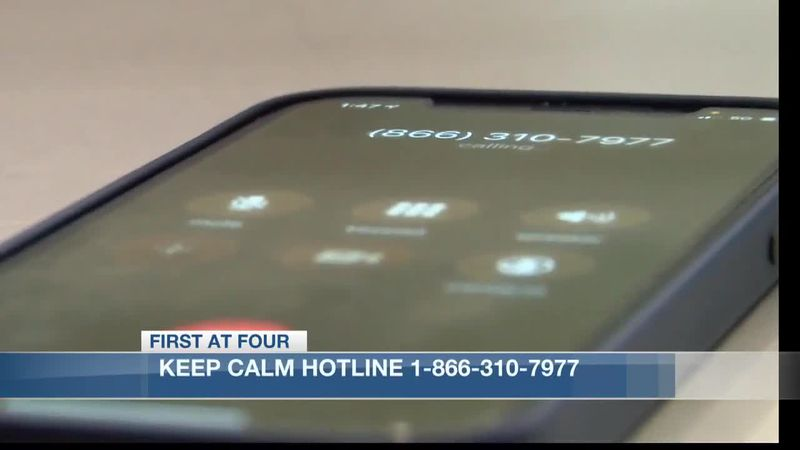 Keep Calm Hotline aims to inform and alleviate stress