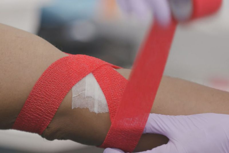The nation is down 100,000 blood donors due to lack of blood donations.