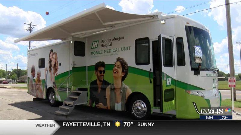 Decatur-Morgan Hospital launches new mobile medical unit