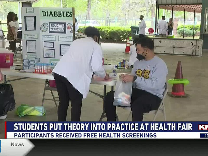 Participants received free health screenings and health education.