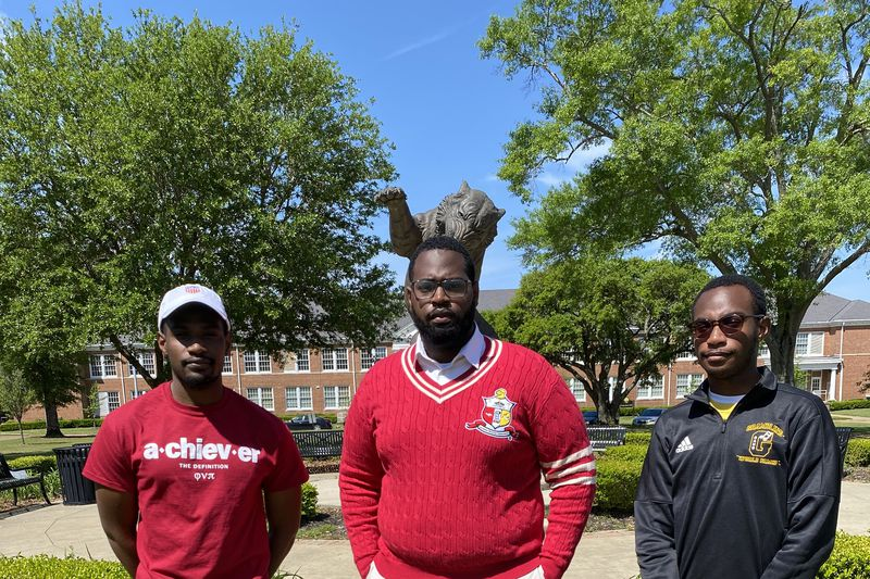 Stevie, Steven and Stephon Wilson are set to graduate from Grambling State University this week.