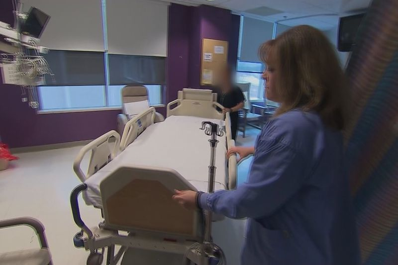 A nationwide nursing shortage has companies looking outside the U.S. for help.