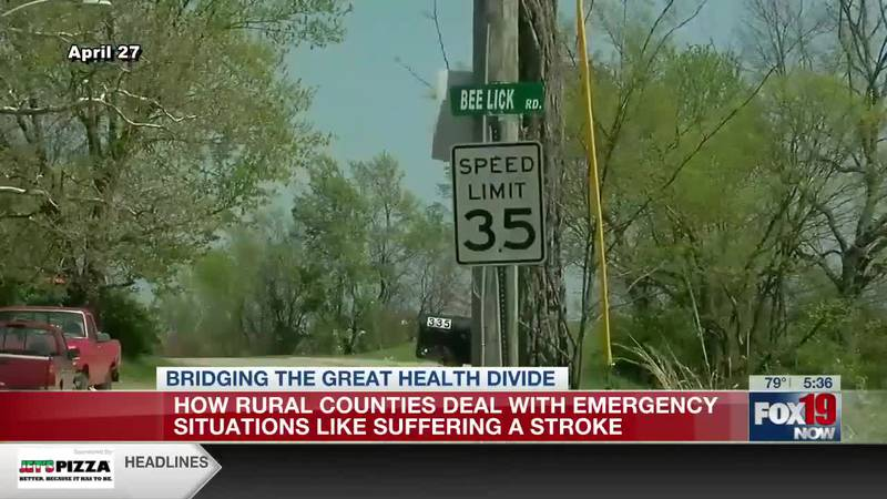 How rural counties deal with emergency situations