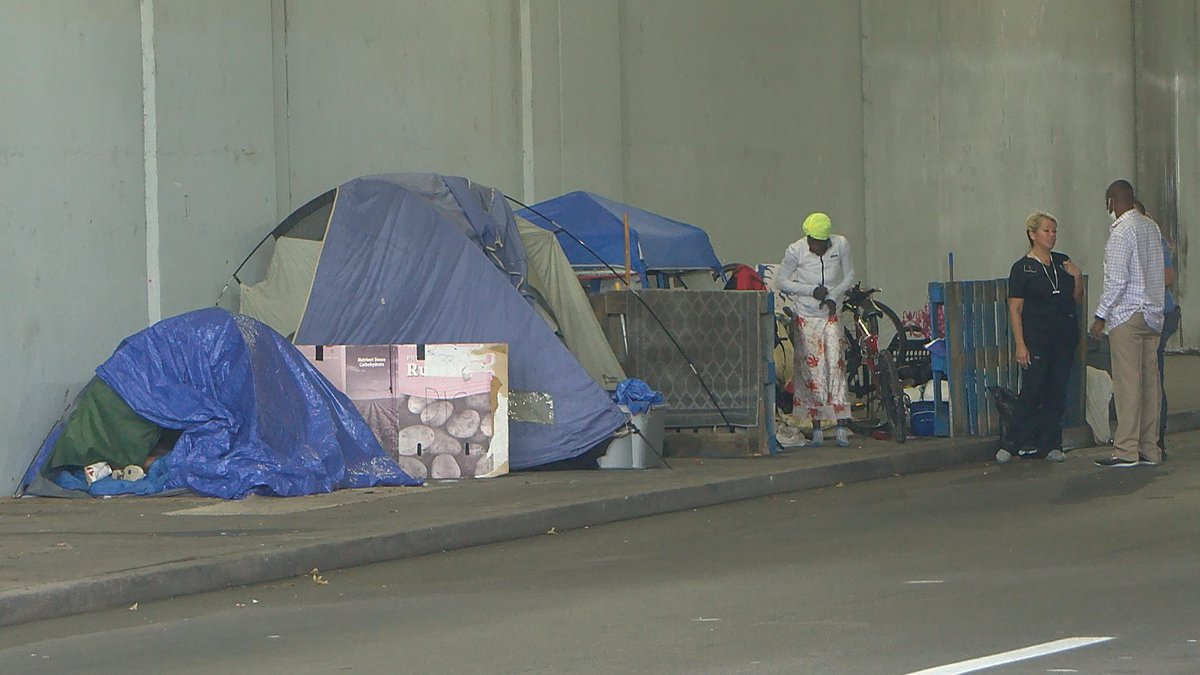 After giving the occupants 21 days notice, Louisville Metro cleared out several downtown...
