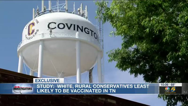 State research shows white, rural conservative Tennesseans most likely to not trust vaccines